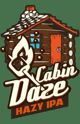 Cabin Daze Hazy IPA Logo