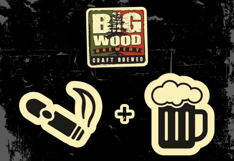 Big Wood Brewery Cigars n Suds